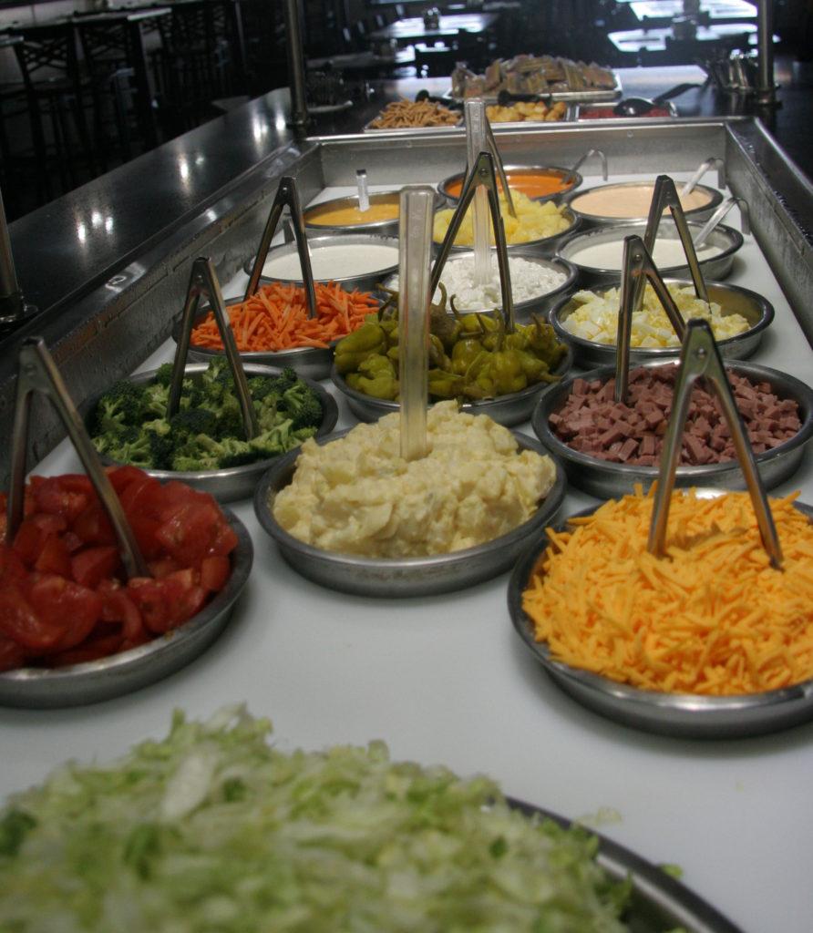 Pizzabuffet